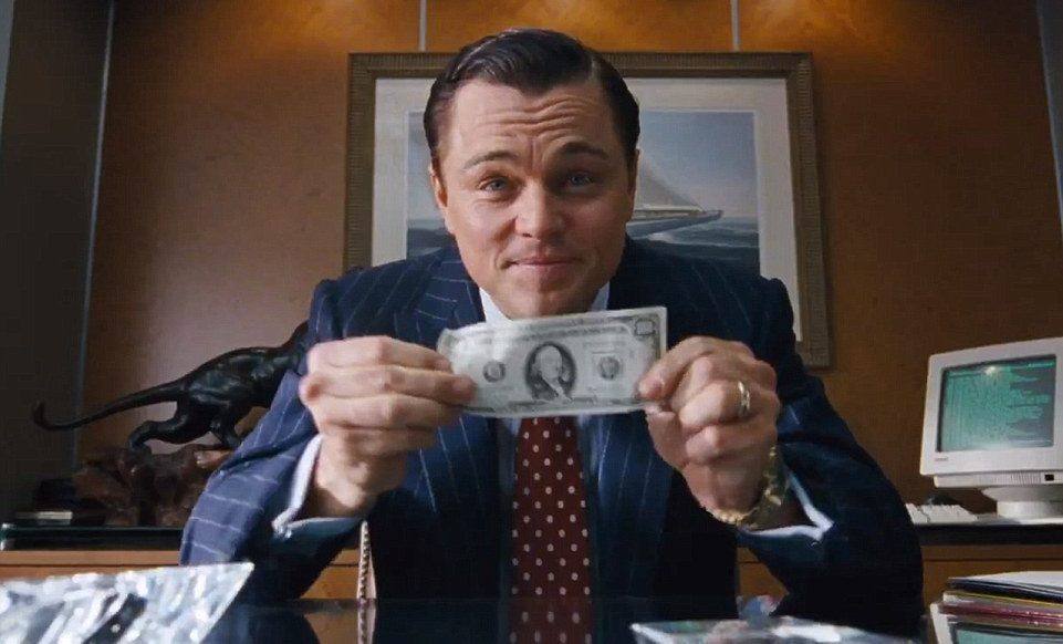 Make your sales pitch like The Wolf of Wallstreet